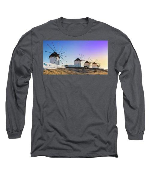 Mykonos, Greece Long Sleeve T-Shirt