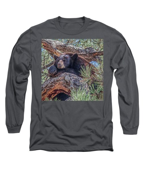 Nap Time Long Sleeve T-Shirt