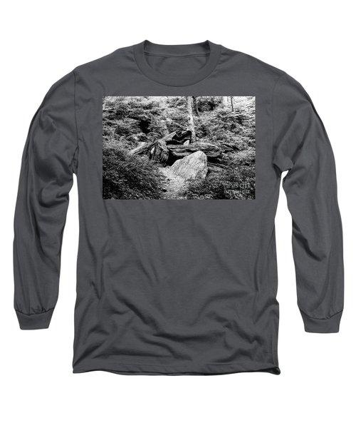 Native American Caves  Long Sleeve T-Shirt