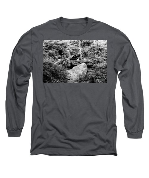 Native American Caves  Long Sleeve T-Shirt