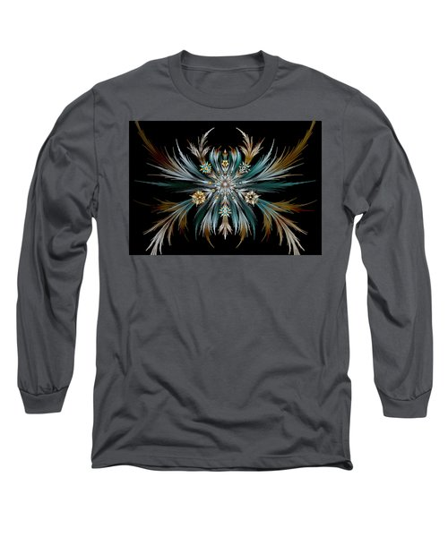 Native Feathers Long Sleeve T-Shirt