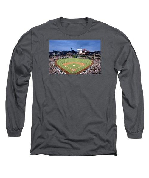 Nats Park - Washington Dc Long Sleeve T-Shirt by Brendan Reals