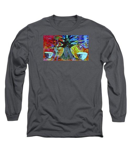 Neighbor - Voisin Long Sleeve T-Shirt by Fania Simon