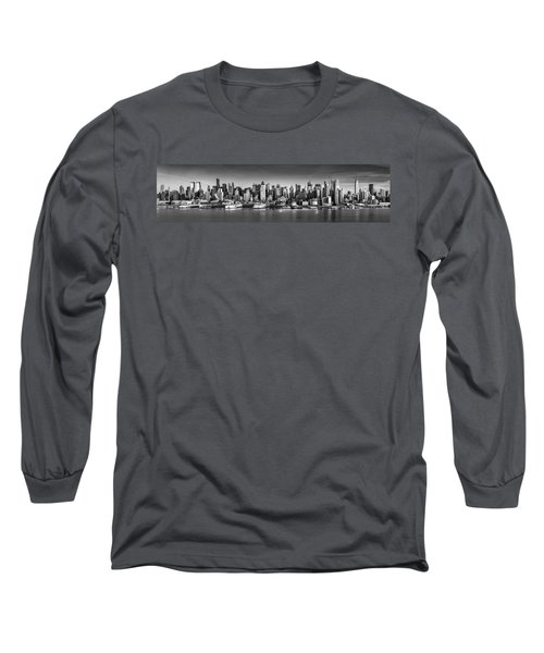 New York City Panorama Long Sleeve T-Shirt