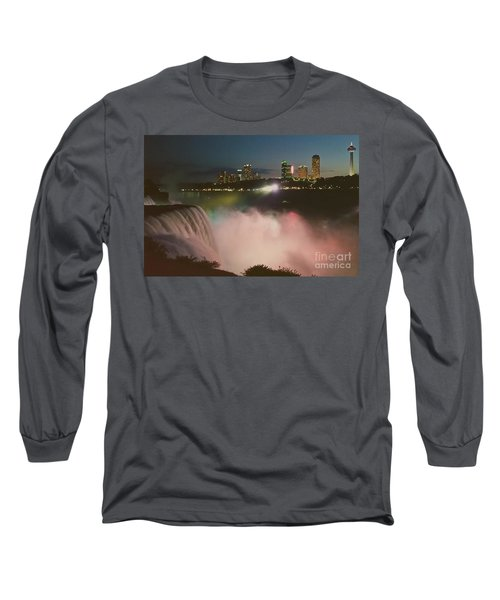 Niagara  Long Sleeve T-Shirt by Raymond Earley