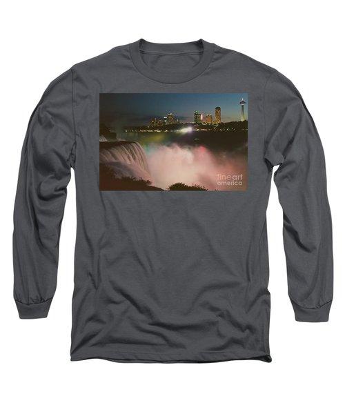 Long Sleeve T-Shirt featuring the photograph Niagara  by Raymond Earley