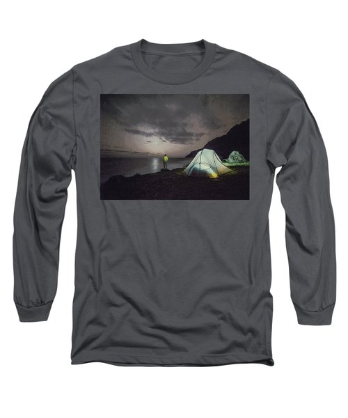 Night Gazer Long Sleeve T-Shirt