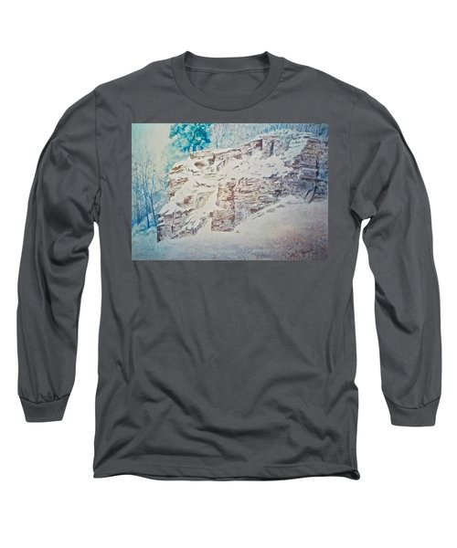 Long Sleeve T-Shirt featuring the painting Oakfield Ridge by Carolyn Rosenberger
