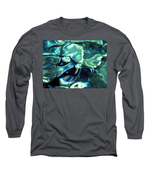 Long Sleeve T-Shirt featuring the photograph Ocean Water by Colette V Hera  Guggenheim