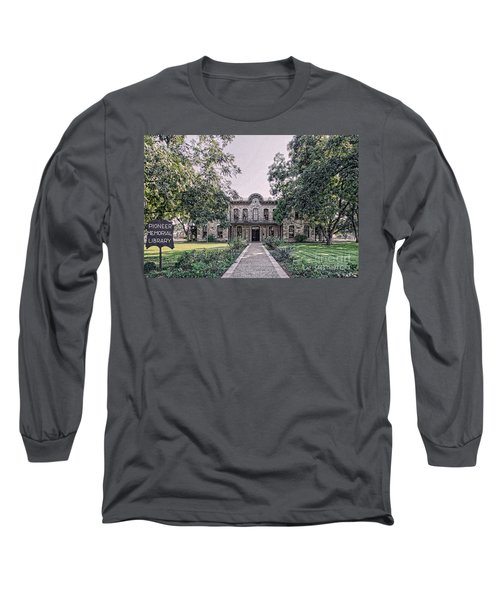 Old Gillespie County Courthouse Long Sleeve T-Shirt