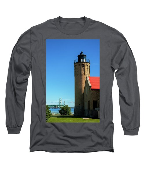 Old Mackinac Point Lighthouse Long Sleeve T-Shirt