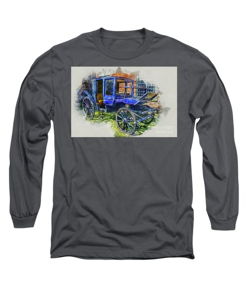 Old Stagecoach Long Sleeve T-Shirt