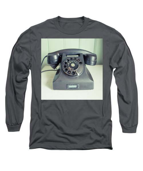 Old Telephone Square Long Sleeve T-Shirt