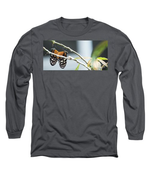 Long Sleeve T-Shirt featuring the photograph On The Edge by Deborah Klubertanz