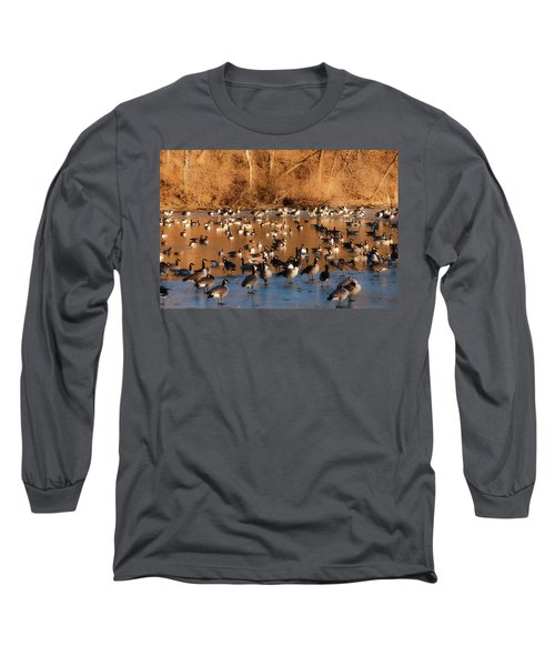 Open Water Long Sleeve T-Shirt by Edward Peterson
