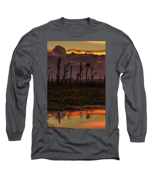 Orlando Wetlands Sunrise Long Sleeve T-Shirt