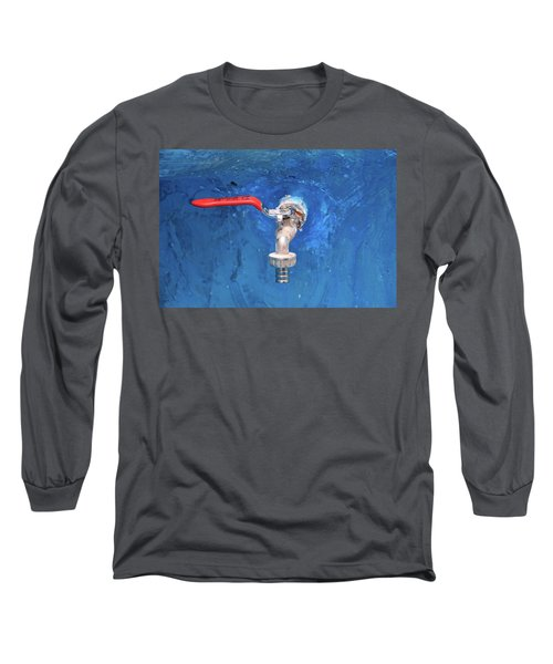Out Of The Blue Long Sleeve T-Shirt by Jez C Self