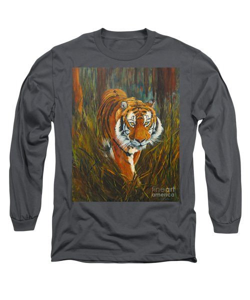 Out Of The Woods Long Sleeve T-Shirt by Beatrice Cloake