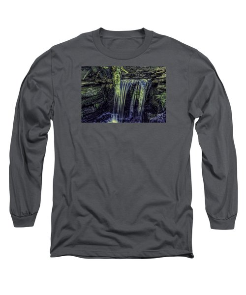 Over The Edge Two Long Sleeve T-Shirt by Ken Frischkorn