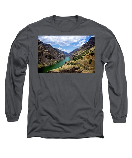 Oxbow Dam Tailwater Idaho Journey Landscape Photography By Kaylyn Franks  Long Sleeve T-Shirt