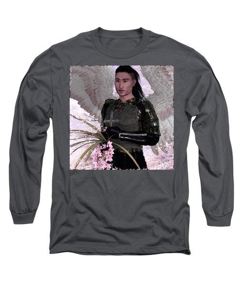 Palm Sunday Long Sleeve T-Shirt by Suzanne Silvir