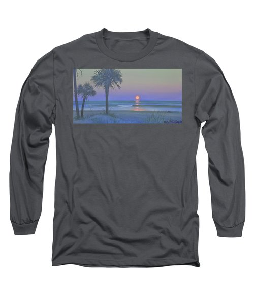 Palmetto Moon Long Sleeve T-Shirt by Blue Sky