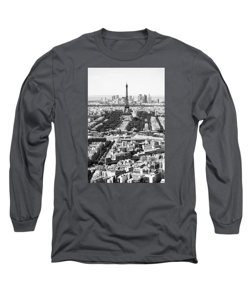 Paris Long Sleeve T-Shirt by Hayato Matsumoto