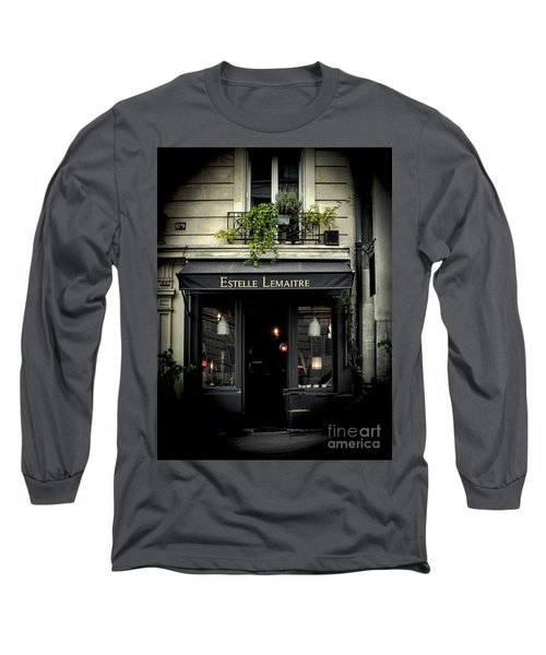 Parisian Shop Long Sleeve T-Shirt by Karen Lewis