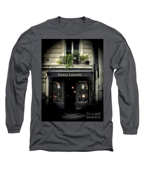 Parisian Shop Long Sleeve T-Shirt