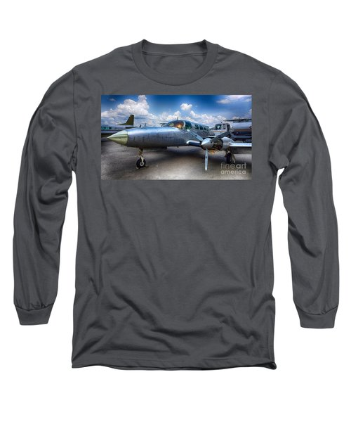 Parked Long Sleeve T-Shirt by Charuhas Images