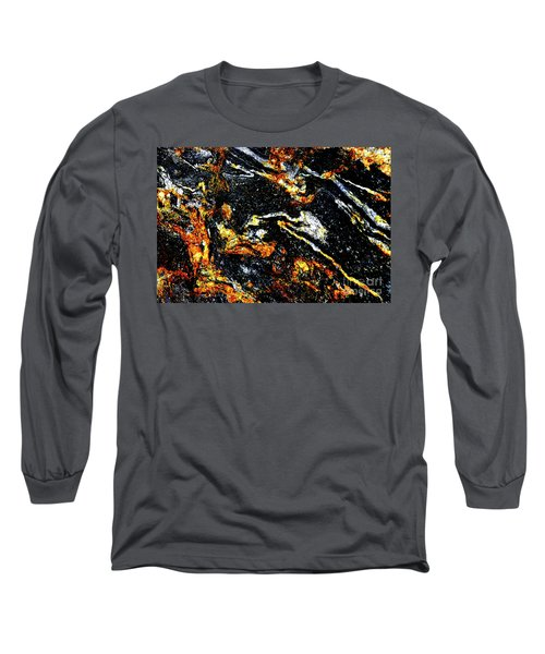 Long Sleeve T-Shirt featuring the photograph Patterns In Stone - 189 by Paul W Faust - Impressions of Light