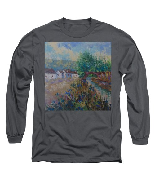 Petit Village De Provence Long Sleeve T-Shirt