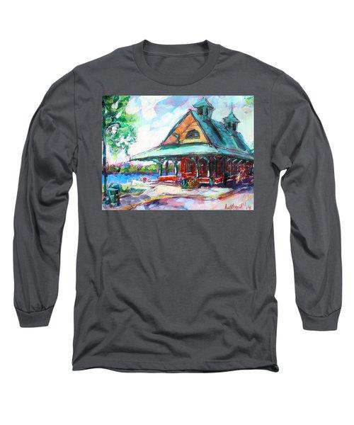 Pewaukee Depot Long Sleeve T-Shirt