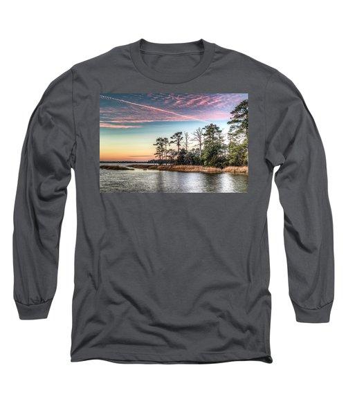 Pink Sky At Night Long Sleeve T-Shirt