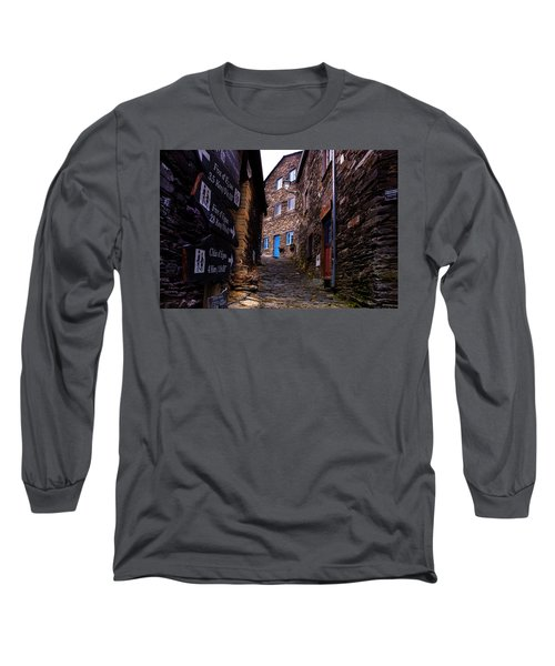 Long Sleeve T-Shirt featuring the photograph Piodao - Portugal by Edgar Laureano