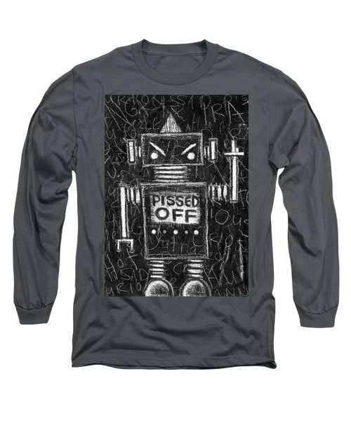 Pissed Off Bot Long Sleeve T-Shirt