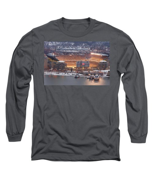 Pittsburgh 4 Long Sleeve T-Shirt by Emmanuel Panagiotakis