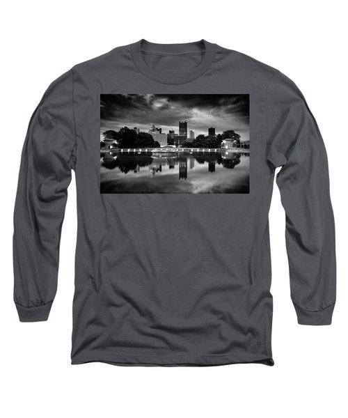 Pittsburgh  Reflections  Long Sleeve T-Shirt