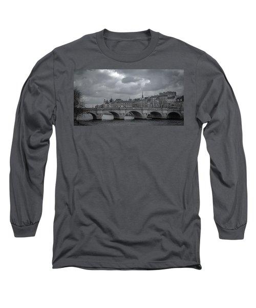 Pont Neuf Paris Long Sleeve T-Shirt