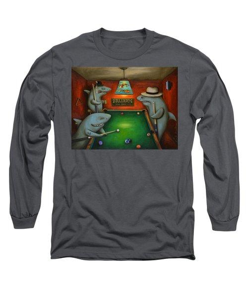 Pool Sharks Long Sleeve T-Shirt