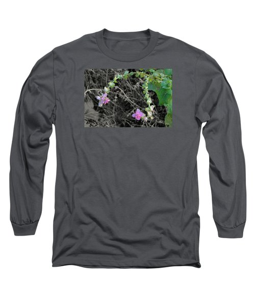 Long Sleeve T-Shirt featuring the photograph Pop Of Color  by Deborah  Crew-Johnson
