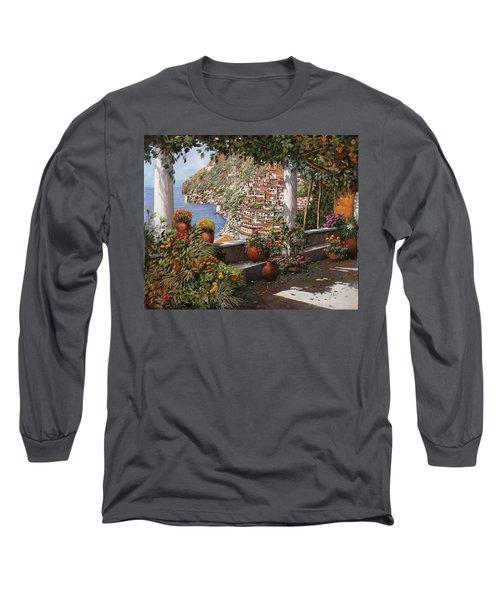Positano Dalla Terrazza Long Sleeve T-Shirt