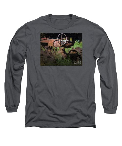 Long Sleeve T-Shirt featuring the photograph Put Out To Pasture by JRP Photography