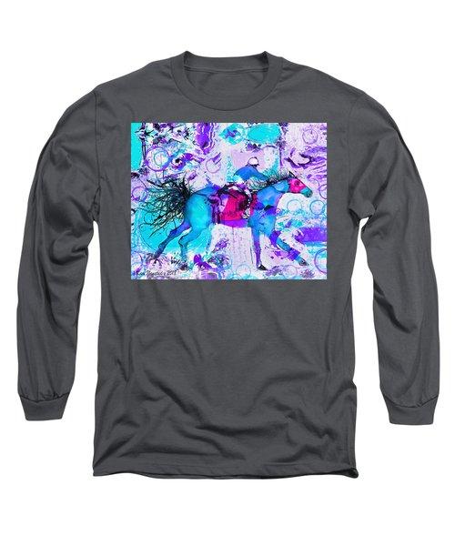 Racing Colors Long Sleeve T-Shirt
