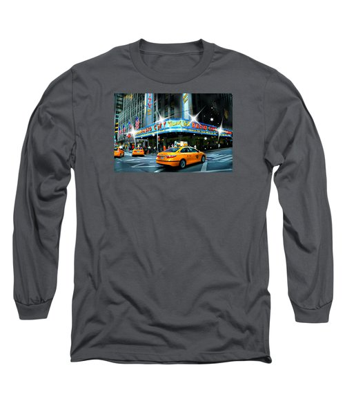 Radio City Long Sleeve T-Shirt by Diana Angstadt
