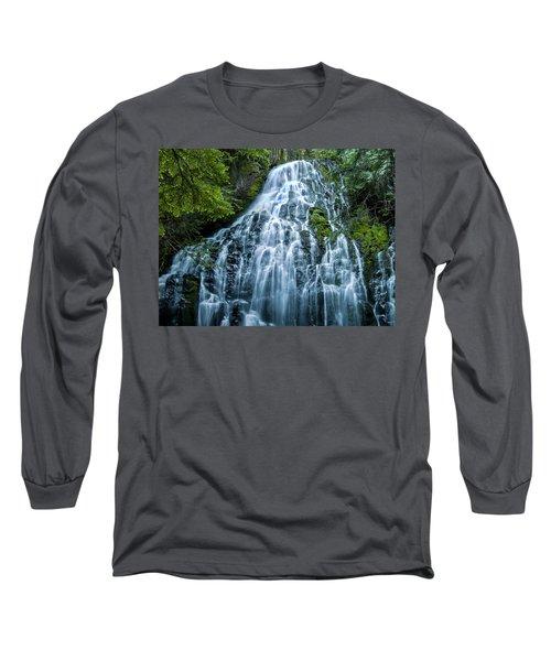 Ramona Falls Cascade Long Sleeve T-Shirt