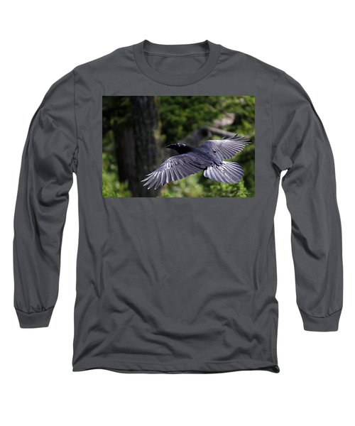 Raven Flight Long Sleeve T-Shirt