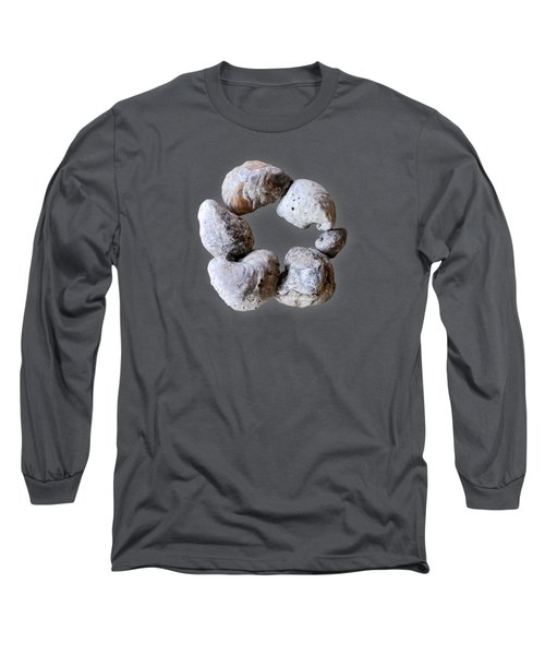 Long Sleeve T-Shirt featuring the photograph Ring Of Fossils by Cheryl McClure
