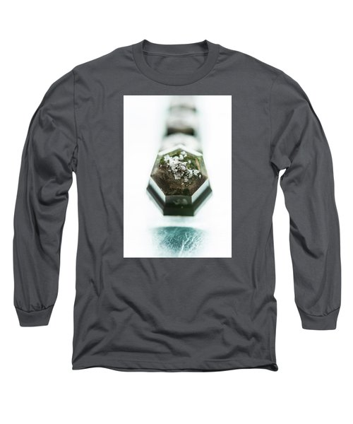 Long Sleeve T-Shirt featuring the photograph Rosemary Chocolate by Sabine Edrissi