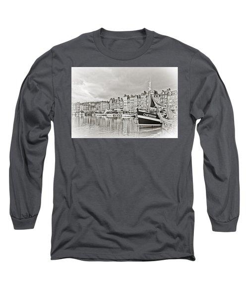 Safe Harbor Long Sleeve T-Shirt by Catherine Alfidi